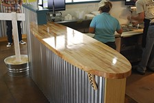 Commercial Wood Counters